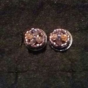 Monet post earrings